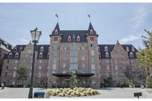Das Hotel Krønasår im Europa-Park Rust.