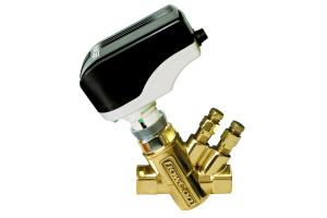 """Druckunabhängiges Regelventil """"FlowCon Green"""" für den dynamischen hydraulischen Abgleich."""