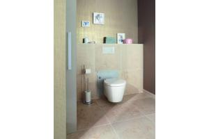 Das Bild zeigt die höhenverstellbaren WC-Elemente von Viega.