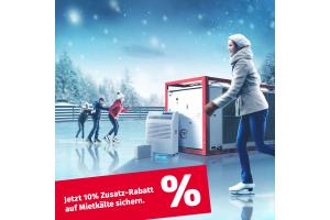 Werbebild für die Mobil in Time-Aktion Winterkälte.