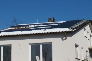 """Im Monitoring betreute """"SOLINK""""-Anlage mit 40 m² PVT-Kollektorfläche."""