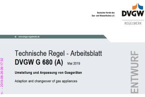 Wie ist bei Gasgeräten zu verfahren, für die es keine Originalteile mehr gibt?  Das DVGW-Arbeitsblatt G 680 beschreibt unter anderem detailliert die Vorgehensweise – Ende 2019 soll es als Weißdruck vorliegen.