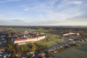 Das Kloster Mallersdorf in Niederbayern.