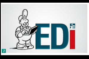 """Logo von """"EDi"""" – dem KWP-Ereignisdienst."""
