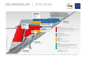 Die neue Hallenstruktur soll der Fachmesse SHK Essen ein schärferes Profil und den Besuchern eine optimale Orientierung geben.