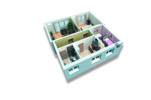 Dezentrale Lüftungsgeräte sorgen für eine bedarfsgerechte Be- und Entlüftung von Wohn- und Aufenthaltsräumen mit einem Lüftungsgerät pro Raum.