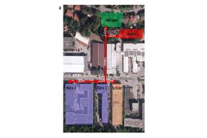 Energieverbund aus fünf Wohngebäuden mit unterschiedlichen Strom- und Wärmeerzeugern und einem bidirektionalen Nahwärmenetz.