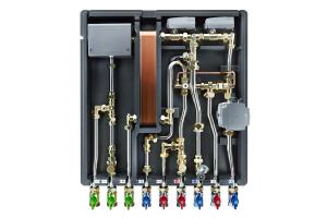 Die thermische Trennung unterstützt ganz wesentlich den Erhalt der Trinkwassergüte, da die Temperaturen innerhalb der Wohnungsstation bei bestimmungsgemäßem Betrieb und 20 °C Raumlufttemperatur nicht über 25 °C ansteigen können.