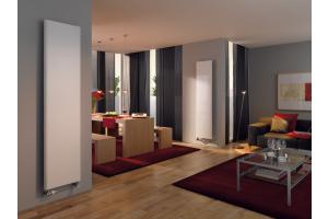 Moderner Heizkörper im Wohnraum