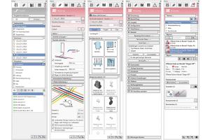 """Das Softwarehaus liNear hat es sich zur Aufgabe gemacht, die Konzepte der integralen Planung in seine Programme einfließen zu lassen. So ist die Prozessunterstützung der Anwender mittlerweile fester Bestandteil der Software;  ganz nach dem Motto: """"Workflow statt Workaround"""". Dieser prozessorientierte Ansatz spiegelt sich auch in der Benutzeroberfläche wider."""