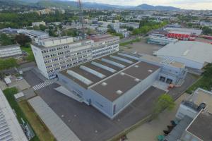 Sauter hat die fünfte Etage der Firmenzentrale in Freiburg komplett renoviert und sie mit digitaler Gebäudeautomation ausgestattet.