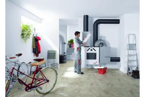 Mit den Jahren erweiterte Zehnder sein Portfolio und produziert heute neben Design-Heizkörpern auch Produkte und Systeme zur komfortablen Wohnraumlüftung (hier im Bild), Heiz- und Kühldecken-Systeme sowie Luftreinigungssysteme