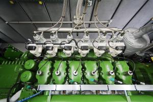 Die Baureihe der Wasserstoff-BHKW vom Typ Agenitor H2 von 2G Energy umfasst ein elektrisches Leistungsspektrum von 115 kW bis 360 kW.