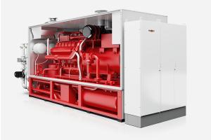 Das Leistungsspektrum der BHKW von Wolf reicht von 30 kW bis 2.000 kW elektrischer Leistung.
