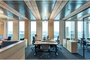Ein Büro im Life Cycle Tower ONE
