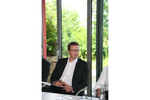 "Christian Zehetgruber beim Expertentreff ""Heizungswasseraufbereitung""."