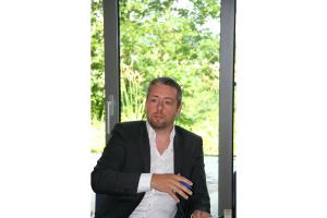"""Oliver Brändlein beim Expertentreff """"Heizungswasseraufbereitung""""."""