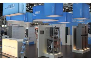 Die in der IBZ organisierten Hersteller informieren auf der Hannover Messe regelmäßig über den Entwicklungsstand ihrer Brennstoffzellen-Heizgeräte.