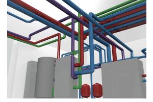 Alle physikalischen und funktionalen Eigenschaften eines Bauwerks werden bereits vor Baubeginn in einem 3D-Modell simuliert, geprüft, korrigiert und aktualisiert.
