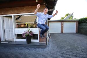 Carsten Mönkemeyer freut sich über sinkende Energiekosten.
