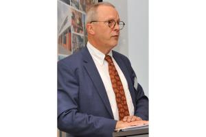 Berthold Müller-Urlaub, Präsident B.KWK, bei seiner Grundsatzrede.