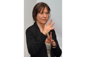 Dr. Dorothee Mühl vom BMWi bei ihrer Keynote-Rede.