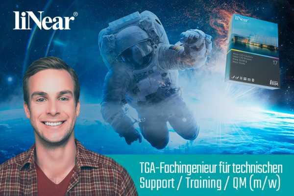 TGA-Fachingenieurin / TGA-Fachingenieur für den technischen Support / Training / QM (m/w)